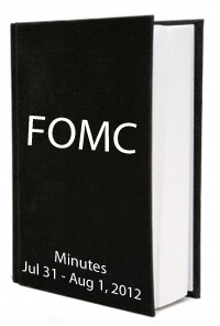 Fed minutes August 2012
