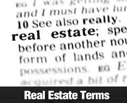 Understanding Real Estate Terms