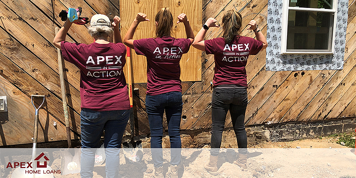 Apex In Action Habitat For Humanity Build
