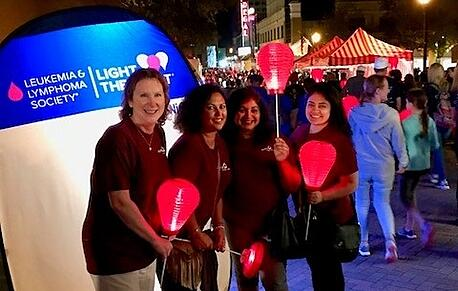 The Apex Team Raised $12,000 for Light the Night!