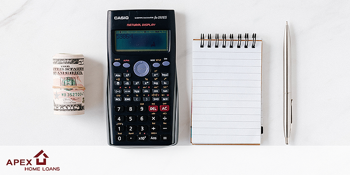 Notepad and calculator