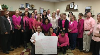 Apex Goes Pink for Breast Cancer Awareness