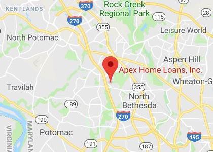 Rockville Map - Apex Home Loans