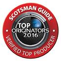 Scotsman TOP Loan Originator 2016