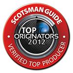 Scotsman TOP Loan Originator 2012