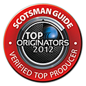 Scotsman TOP Loan Originator 2012