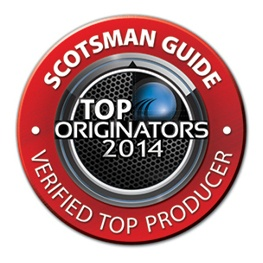 Scotsman TOP Loan Originator 2014