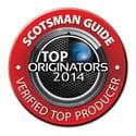 Scotsman TOP Loan Originator 2014
