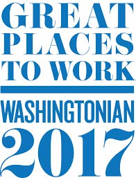 Washingtonian Great Places to Work 2017