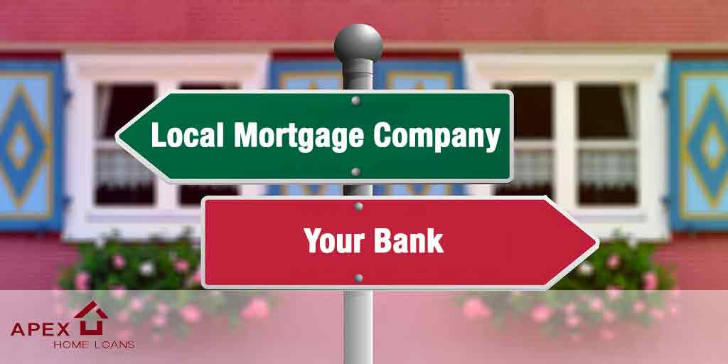 Local Mortgage Company or your bank