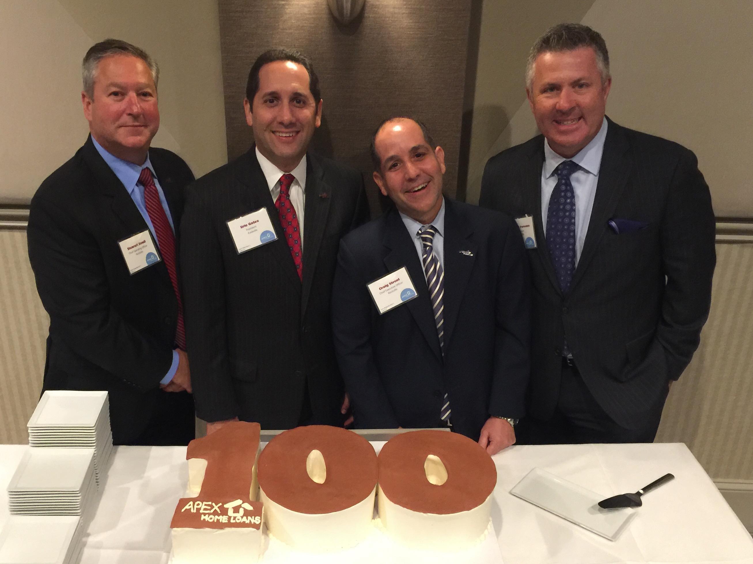 Apex Breaks 100 Employee Mark